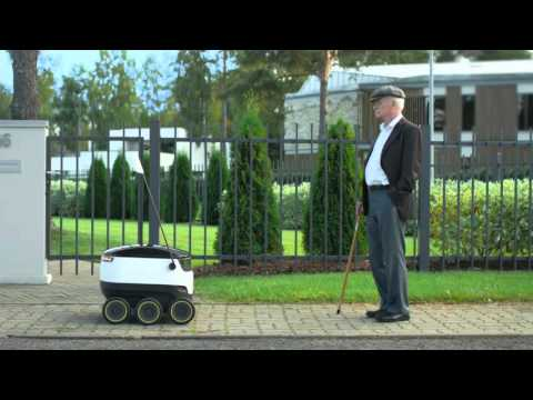How does Starship robotic delivery work