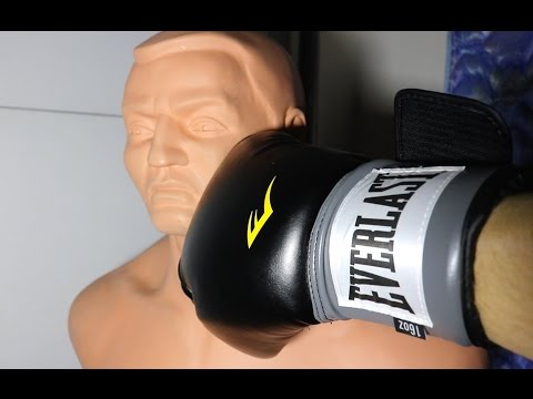 EVERLAST Pro-Style Boxing Training Gloves (UNBOXING + REVIEW)