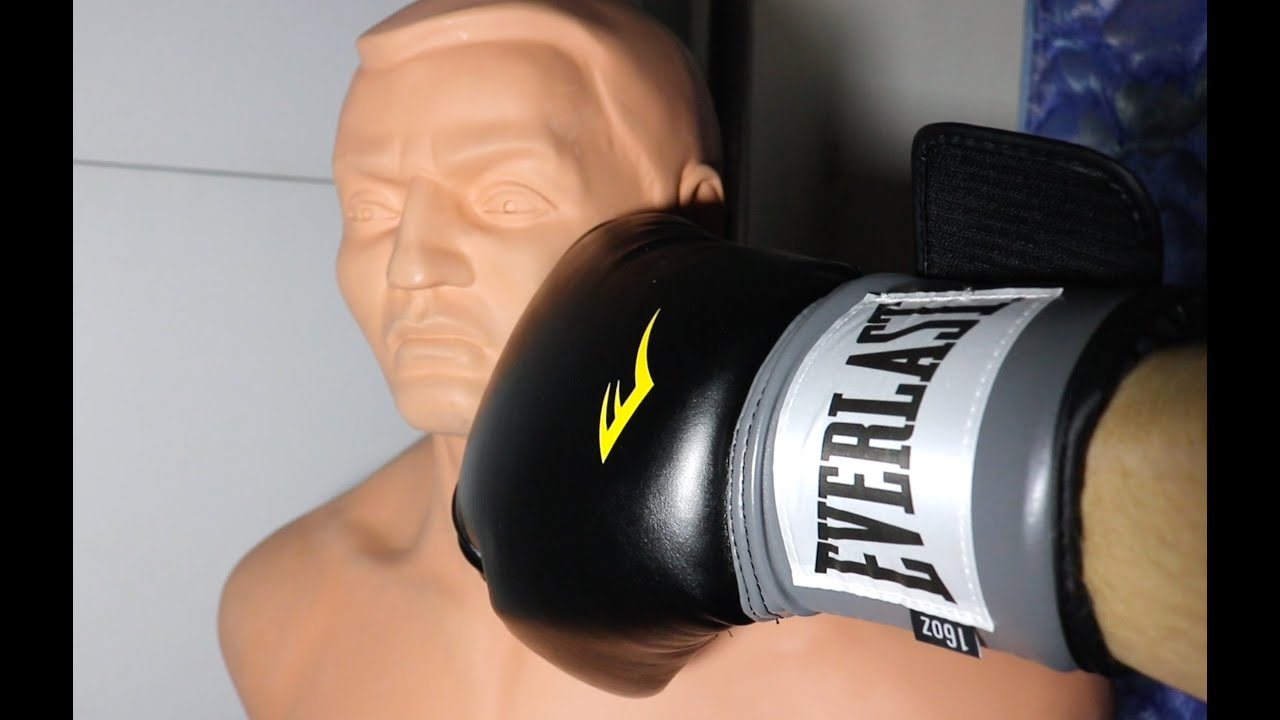 9a6cd2f0f EVERLAST Pro-Style Boxing Training Gloves (UNBOXING + REVIEW) - YouTube