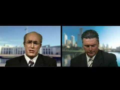 John Howard aka Ben Price Mock Satellite Interview