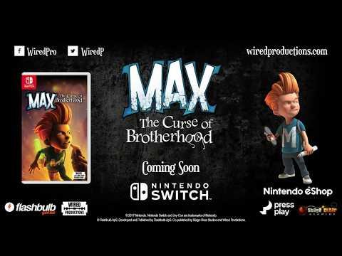 Max The Curse of Brotherhood Switch PEGI