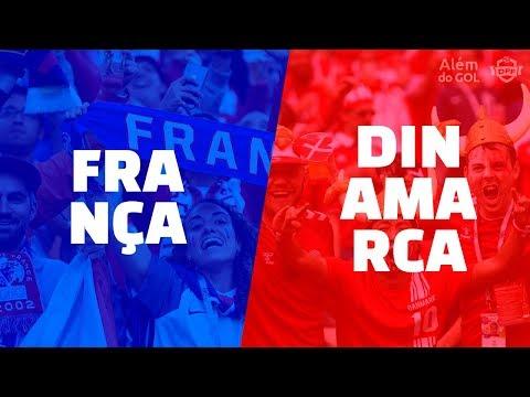 Classificadas: França e Dinamarca   Além do GOL