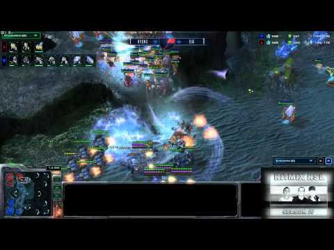 AX Ryung vs EmpireSiw: Ritmix RSL 4 Group E - [Starcraft II]