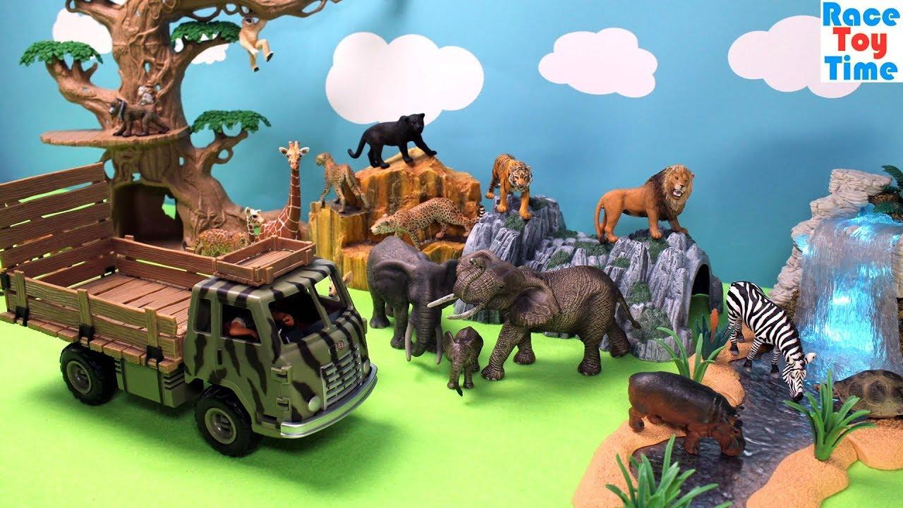 Original genuine wild jungle zoo farm animals series 4