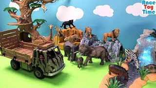 Schleich Animals Transporter and Fun Blind Bag Animal Collection For Kids