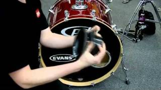 KickPort Bass Drum Enhancer Demonstration w/ PDP Maple Kick