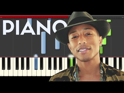 Pharrell Williams Freedom Piano Midi Karaoke Despicable me 3 Sheet Tutorial Lyrics Free Download