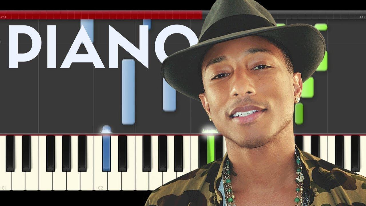 Pharrell williams freedom piano midi karaoke despicable me 3 sheet.