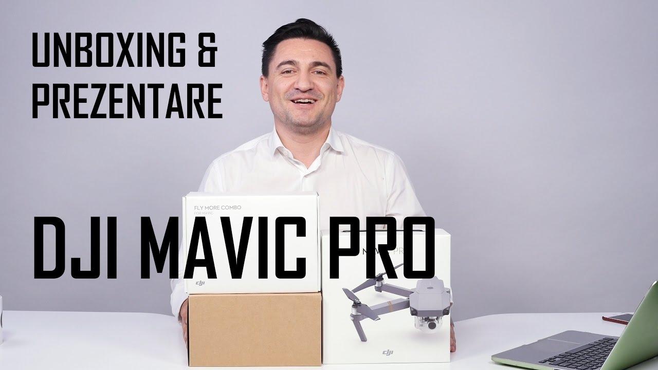 UNBOXING & REVIEW - DJI MAVIC PRO + CONTROLLER (www.buhnici.ro)
