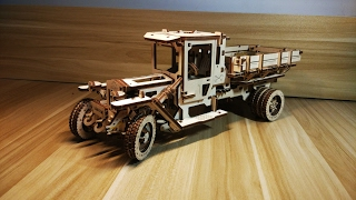 【UGEARS】The structure of the truck is so great!