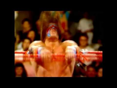 WWF/WWE Ultimate Warrior 1st Theme With Custom Titantron RIP