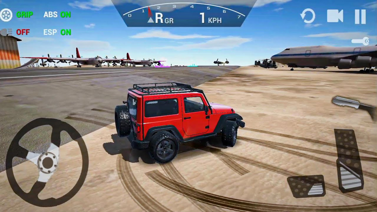 Ultimate Offroad Driving Simulator Ep1 4x4 Games!  Android gameplay