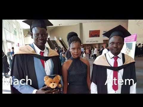 South Sudanese Western Australians Grads September 2017.