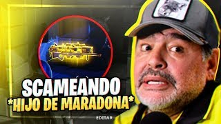 *SCAMEO TO SCAMMER* BELIEVES CHILD OF MARADONA!! | FORTNITE SAVE THE WORLD