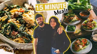 15 MINUTE MEALS with PICK UP L…