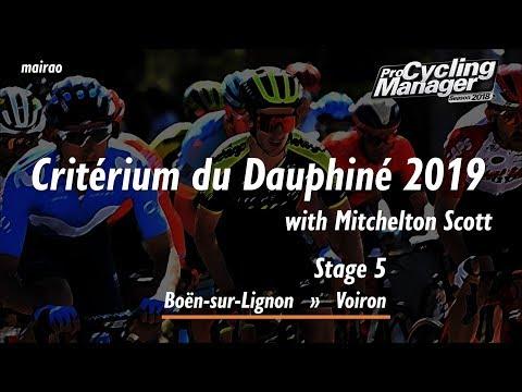 Critérium du Dauphiné 2019 - Stage 5 // Boën-sur-Lignon » Voiron // Pro Cycling Manager 2018  