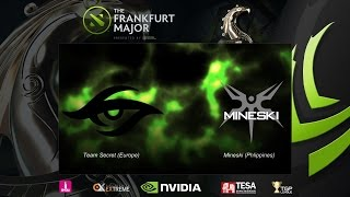 [DOTA] Frankfurt Major 2015 Main Event : Secret vs Mineski - SZD - Thai Stream