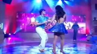 """""""Dança dos Famosos 6"""" Átila Amaral e Paola Oliveira - Forró"""