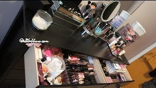 Makeup Collection & Storage ♥ Spring 2012 - Charmaine Manansala