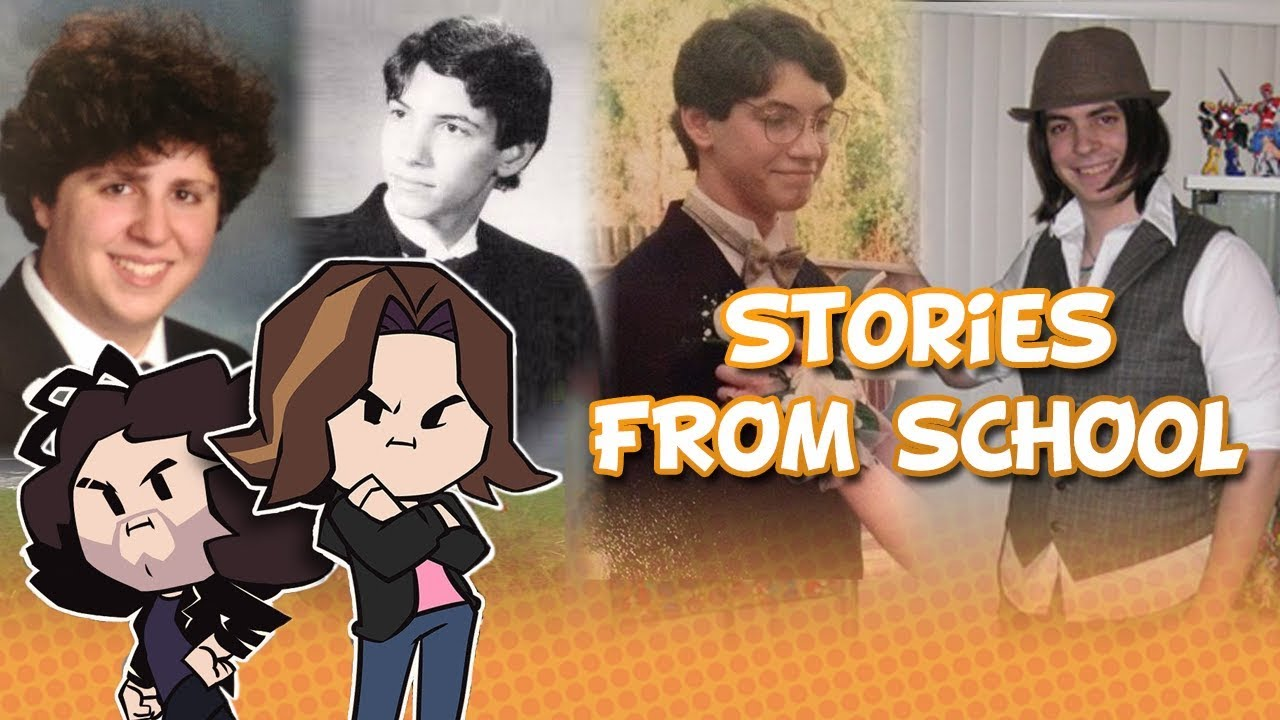 game grumps stories from school youtube