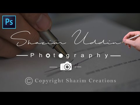 How to Create Own Signature Logo For Photography ? thumbnail