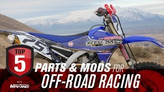 Top 5 Motorcycle Parts and Mods for Off Road Racing