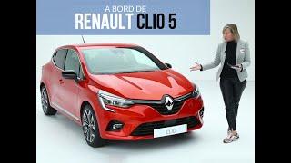 A bord de la Renault Clio (2019)