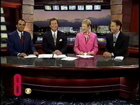 Sept. 25, 2000, Paula Francis & John Gilbert, KLAS-TV Ch. 8 Eyewitness News