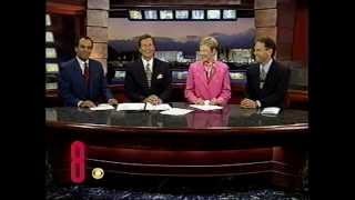 Sept. 25, 2000, Paula Francis & John Gilbert, KLAS-TV Ch. 8 Eyewitness News