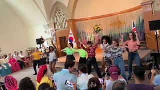 [PART 1] KPOP Random Play Dance Game in Korean Festival 2019, New Malden, London UK