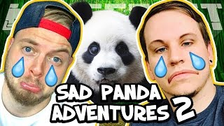 WE SAVED THE PANDAS! - SAD PANDA ADVENTURE 2! W/AshDubh [Minecraft Custom Map]