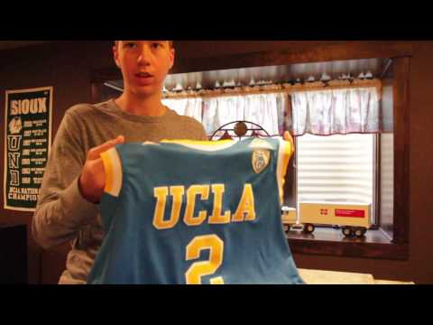 size 40 3ffb9 91a84 Lonzo Ball UCLA Jersey Unboxing From Ebay! - YouTube