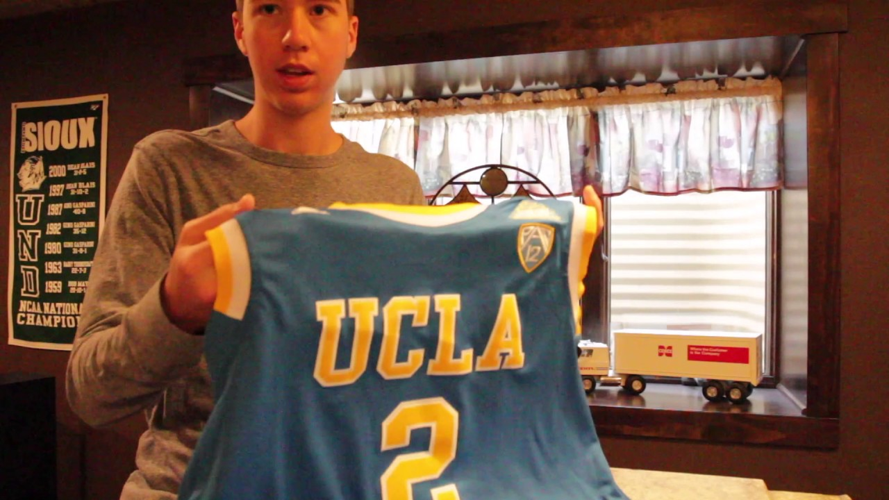 hot sale online 358dd 04efc Lonzo Ball UCLA Jersey Unboxing From Ebay!