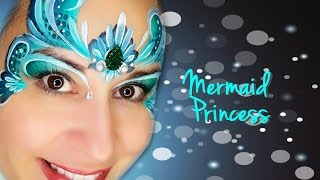 5 Mermaid Face Paint Designs To Try Face Paint Shop Australia