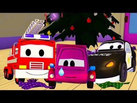 A Super Patrulha: caminhão de bombeiro & carro de polícia e Suzy e os presentes roubados  Natal