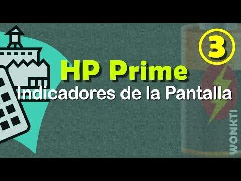 HP Prime: 03 - Indicadores de la pantalla