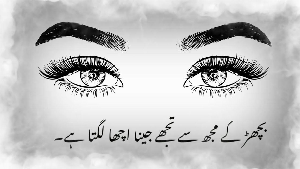 Bichad K Mujh se | Omar javed | Very deep poetry | Sad status | urdu poetry