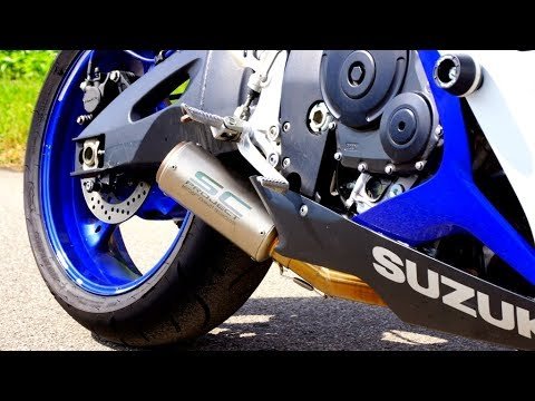 suzuki gsx r 600 exhaust sound