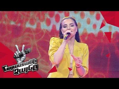 Anahit Hakobyan sings 'Wrecking Ball' - Blind Auditions - The Voice of Armenia - Season 4