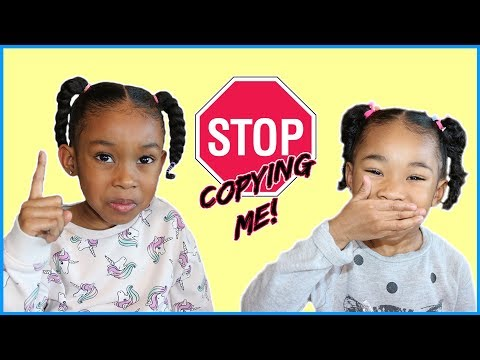 Stop Copying Me / Copycat Sefari Does Everything Her Big Sister Does
