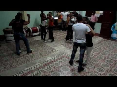 Rueda performance by Yanek Revilla's group Casino.com in Santiago de Cuba