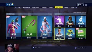 Fortnite New Item Shop The Hopper Skin & Bold Bar with Something Special