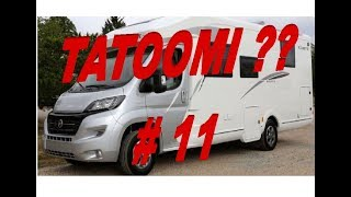 Cyril et Hedi de Camping car 69 : TATOOMI Fleurette 74 LMF 50ième EDITION