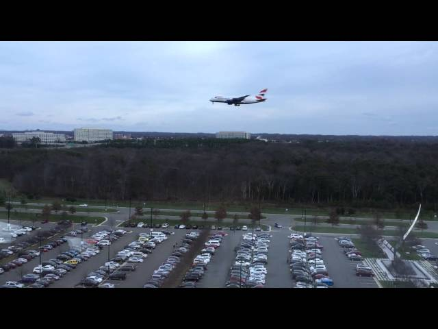 BA217 arrival at IAD