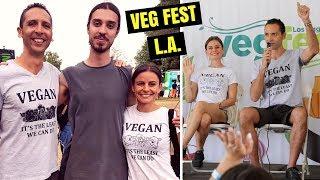 VLOG | L.A. Veg Fest 2018
