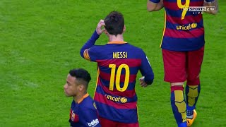 Lionel Messi vs Sporting Gijon (Away) 15-16 HD 720p - English Commentary