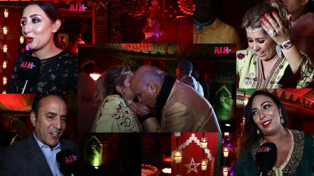 """مشاهير ونجوم مغاربة في حفل ختان """"يوري"""" إبن خبيرة المكياج صونيا النكادي"""