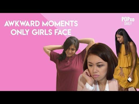 Awkward face girl
