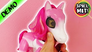 Zoomer SHOW PONY deutsch - INTERAKTIVES HAUSTIER | Training & Tricks erlernen | elektronisches Pferd