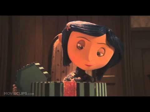 Coraline Button Eyes Scene Youtube